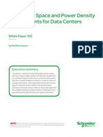 Calculating Space and Power Density Requirements for Data Centers