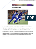IPL Spot-Fixing_ Ajit Chandila Gets Bail - Yahoo! Cricket India