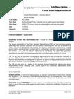 PSR Job Description