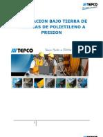 INSTALACION BAJO TIERRA DE LAS TUBERIA DE POLIETILENO A PRESION.pdf