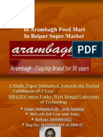 A PROJECT REPORT ON ARAMBAGH