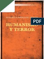 31497942 Maurice Merleau Ponty Humanismo y Terror