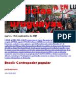 Noticias Uruguayas Martes 10 de Setiembre Del 2013