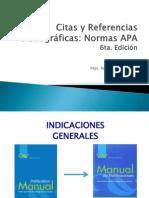 Citas y Referencias APA