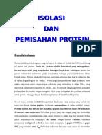 Biokim Isolasi Dan Pemisahan Protein 1