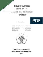 Biokim Isolasi Dan Pemisahan Protein Sampul
