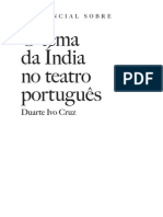 o Essencial Sobre o Tema Da India No Teatro Portugues Wvng