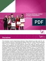 VIPS 2Q13 Post Earnings Presentation