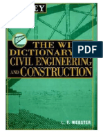 Dictionary of Civil Engineering and Construction