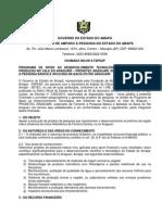 Edital Prodetec Araguari Marilia PMDR