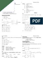 9.8 Inverse of a Matrix