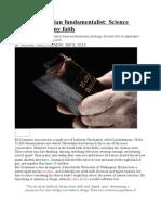 Former Christian Fundamentalist Science Robbed Me of My Faith