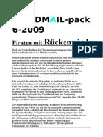 """MINDMAIL - PAKET  6 09 (updated 4.7.09) """"PIRATEN MIT RÜCKENWIND"""", """"SICHERHEIT STATT FREIHEIT, eine tour-de-force durch die medienmanipulation """" and others"""