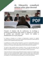Comisión de Educación consultará constitucionalistas sobre plan decenal Primera Hora