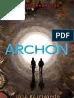Archon by Lana Krumwiede - Chapter Sampler