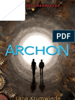 Archon by Lana Krumwiede - Chapter Sampler