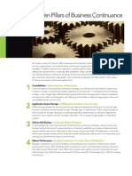 10 Pillars of Business Continuance