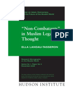 Non-Combatants in Muslim Legal Thought