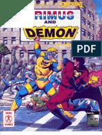 Organization Book 2 - Primus and Demon