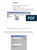 DOS Flash Utility User Guide
