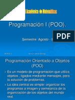 Programación Orientado a Objetos