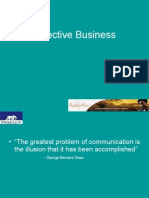 Effective Business Communication 1