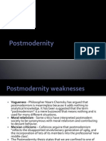 Post Modernity