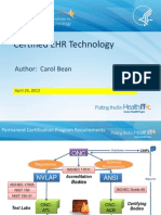 Certified EHR Technology