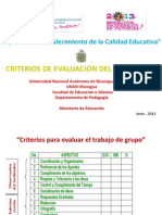 Criteriosdeevaluaciondeldiplomado