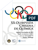 Folleto Xx Olimpiadas Qca 2012