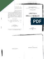 G. Rensi - Critica Della Morale