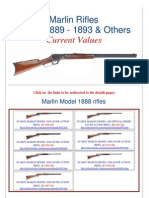 Marlin Rifles 1888 - 1889 - 1893 Current Values