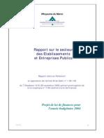 Rapport sur le secteur des Etablissements et Entreprises Publics.pdf