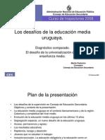 Los Desafios de La Ed Media Uruguaya