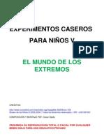 3 Experimentos Caseros Para Ninos Vel Mundo de Los Extremoshttpnecesidadesespecialespenny Blogspot Com 120313221804 Phpapp02