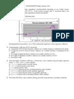 Exam Econometrics Ba 2010