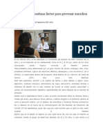 10/09/13 News Fortalecer Autoestima Factor Para Prevenir Suicidios