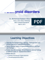 Parathyroid Disorders