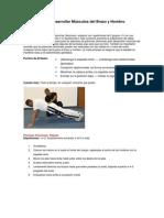 Ejercicios para Desarrollar Músculos del Brazo y Hombro