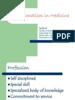 3. Profesionalisme kedokteran