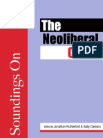 The Neoliberal Crisis, Edited by Jonathan Rutherford