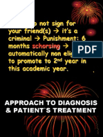 LECT APPROACH TO DIAGNOSIS & PATIENT`S_110709.ppt