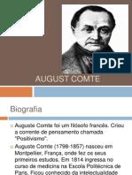 August Comte Trabalho