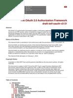 OAuth v2 Draft Specification