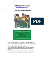 Reglamento Sepak Takraw - 7 Pags