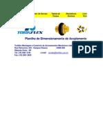 Antares - Dimensionamento de Acoplamentos - Rev. 04