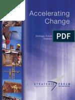 Accelarating Change