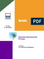 5o Ano - Derecho Internacional Privado Sal, V.mar, Neuq, Juj, Ctes, Neco, b.bla