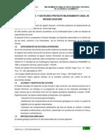 Estudio Geologico y Geotecnico Proyecto Mejoramiento Canal de Regadio Huacariz