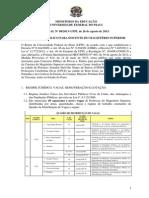 Edital08 Professor Ensino Superior Ufpi